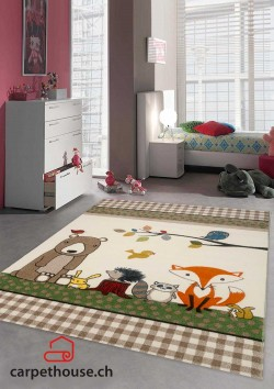 Kinderteppich DIAMOND KIDS Tiere
